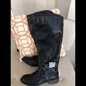 Madden girl tall black boots